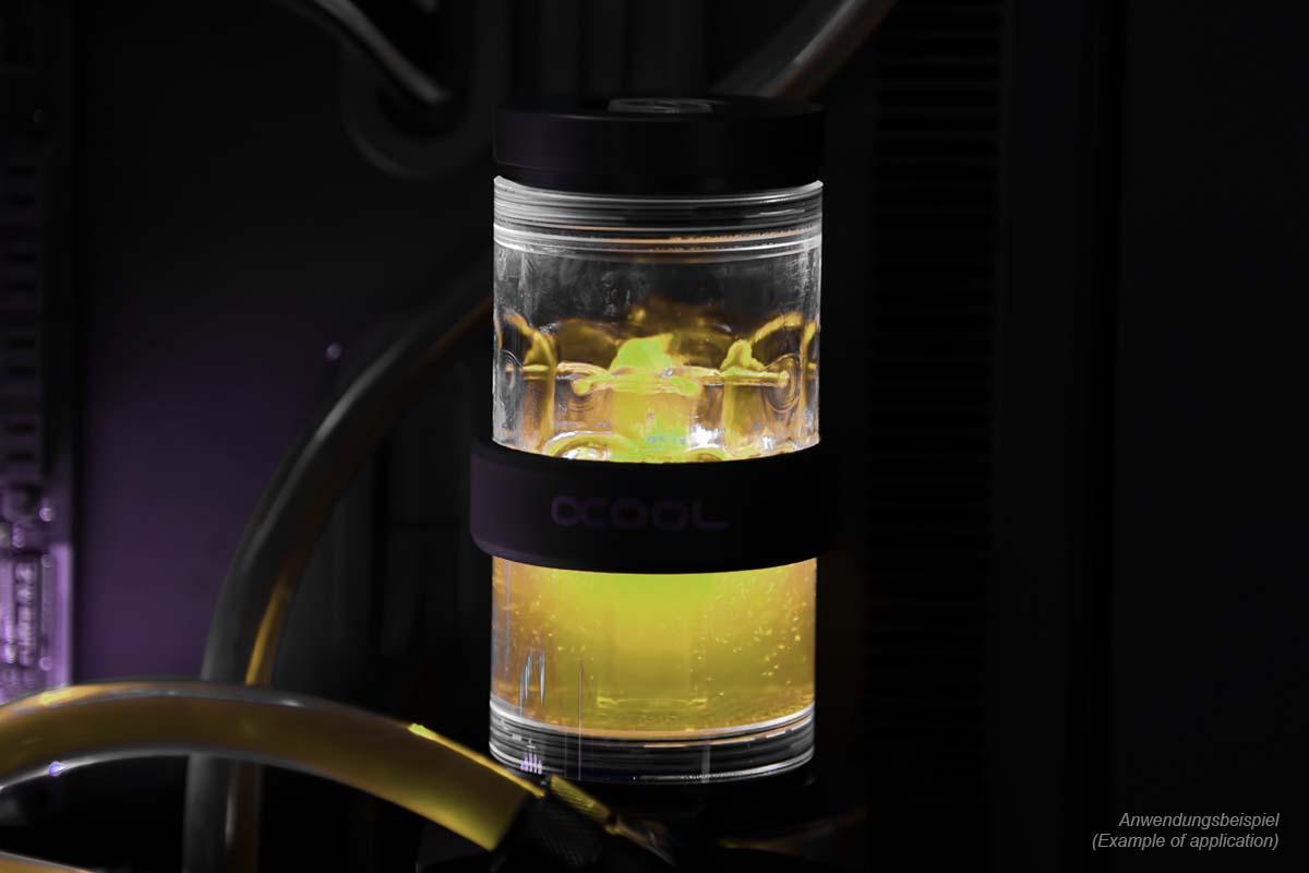 Alphacool Eiswasser Crystal Yellow UV-aktiv előkevert 1000ml (18542)