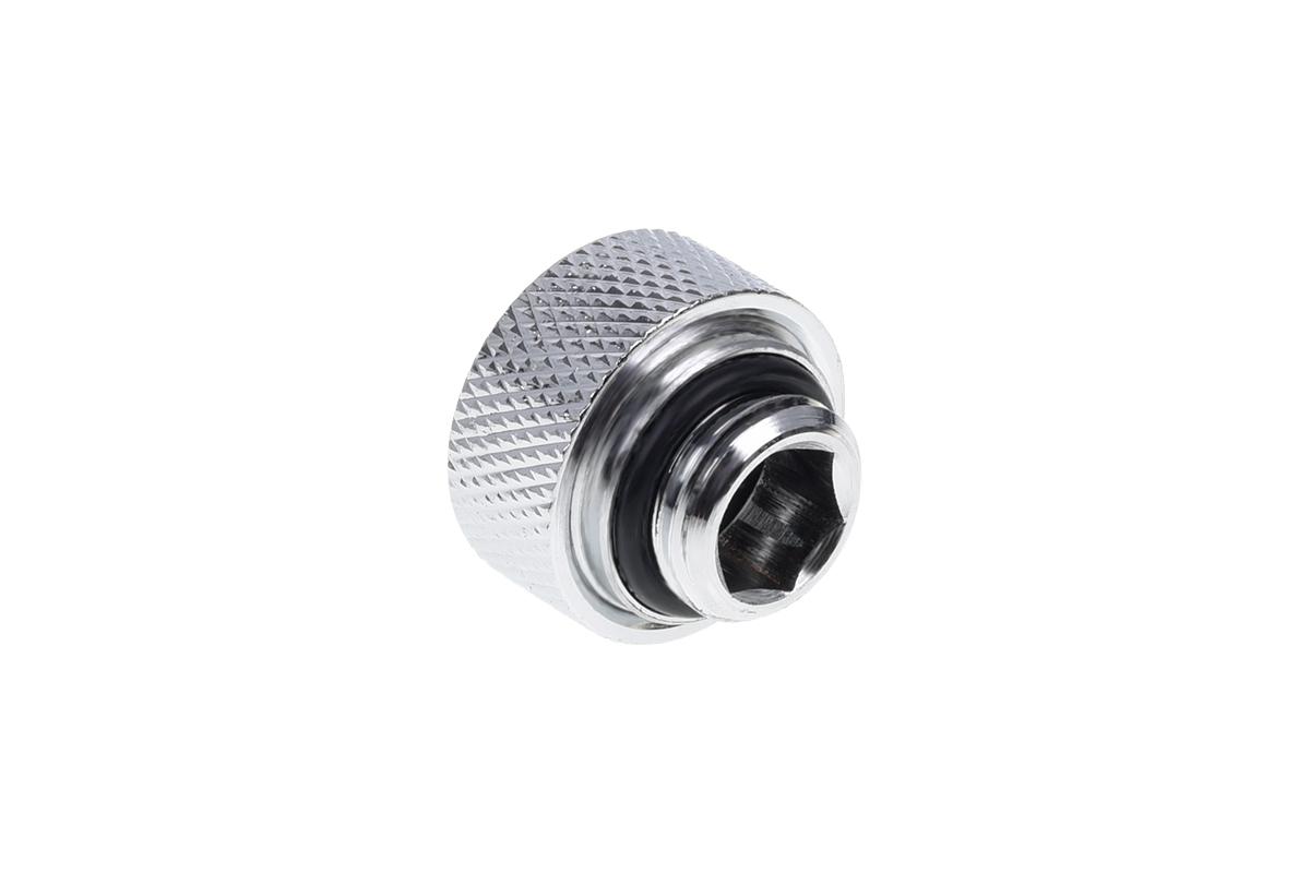 Alphacool Eiszapfen 13mm HardTube csavarható G1/4 - króm 6os csomag (17376)