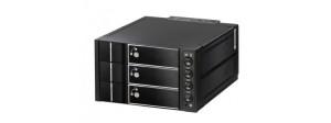 SNT 3xSATA/SAS Raid0-5 Hot-swap,2x5,25˝ (ST-3231SR5)