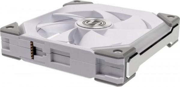 Lian Li UNI FAN SL120 RGB PWM ventilátor, 3 darabos, fehér - 120 mm(UF-SL120-3W)