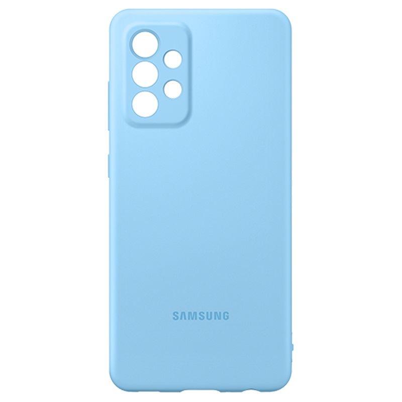 Samsung Galaxy A52/A52 5G szilikon tok kék (EF-PA525TLEGWW)
