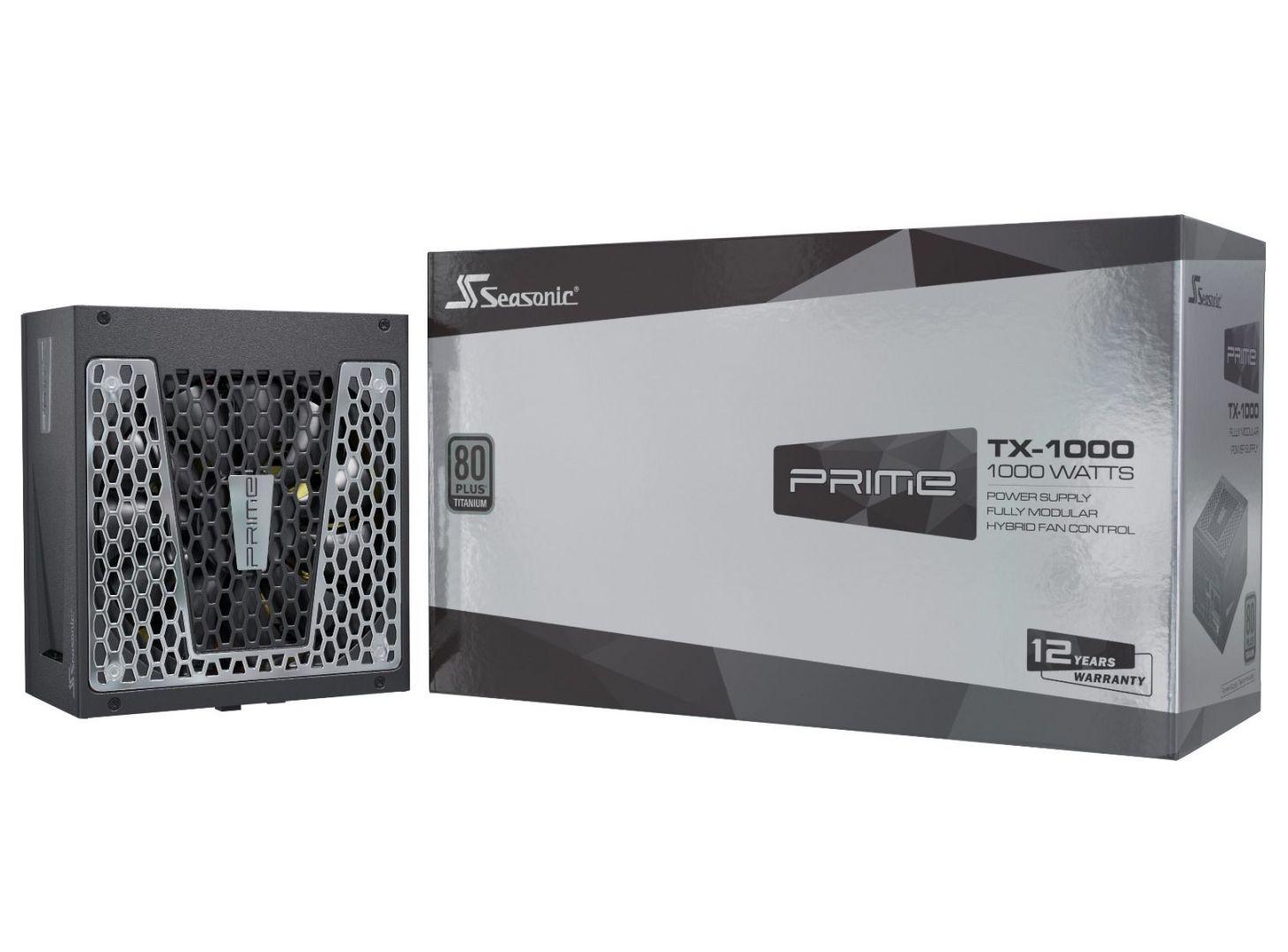 Seasonic 1000W 80+ Titanium Prime TX (PRIME-TX-1000)